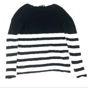 Tommy Bahama Vintage Linen Striped Nautical Top